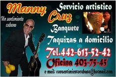 Cantante y pianista versatil cubano en santiago de queretaro .