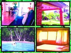 Casa FAMILIAR Puentes, Fines y Vacaciones en Morelos para 8 Pers.
