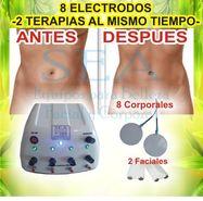 Gimnasia pasiva corporal (electrodos) y facial 3 años garantia