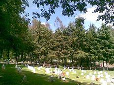 Parque Memorial fosa cuádruple servicios completos Jardín La Loma LV