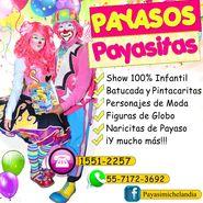 PAYASOS PARA FIESTAS INFANTILES EN COYOACAN