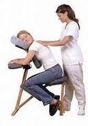 Servicio de masaje en silla en el lugar de trabajo o en su evento