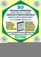 Libro FABRICACION DE PRODUCTOS INDUSTRIALES - Libro de FABRICACION DE PRODUCTOS DE LIMPIEZA y otros mas