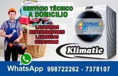 ¡RAPID! Técnicos Lavadoras [[KLIMATIC]] 012761763 – El Agustino