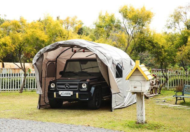 Venta de garajes plegables y motorizados para vehiculos - Garajes para coches ...