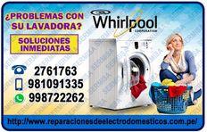 W H I R P O O L (Servicio Tecnico)2761763 Lavadoras- Salamanca-Ate