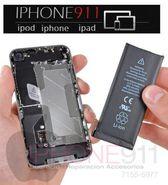 bateria para iphone 5, si no te dura la carga de tu iphone, nosotros somos la soluciones TALLER iphone911