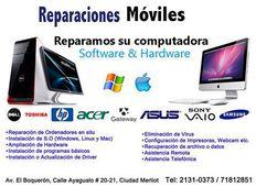 instalacion de sofware y mantenimiento de pc y macbook
