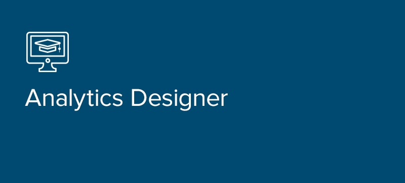 Analytics Designer Certification
