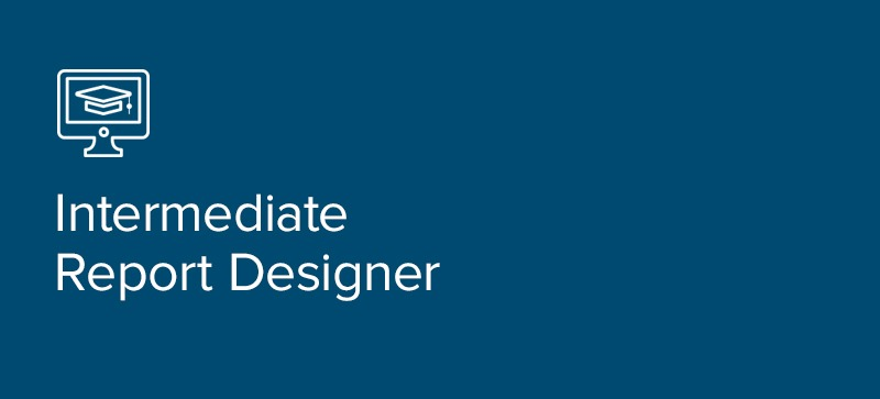 Intermediate Report Designer Class