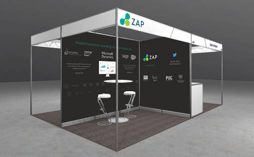 ZAP is a Microsoft Gold Partner and will be at this year's event – Stand J5, 27-29 March at the RAI in Amsterdam – as a Gold Sponsor.