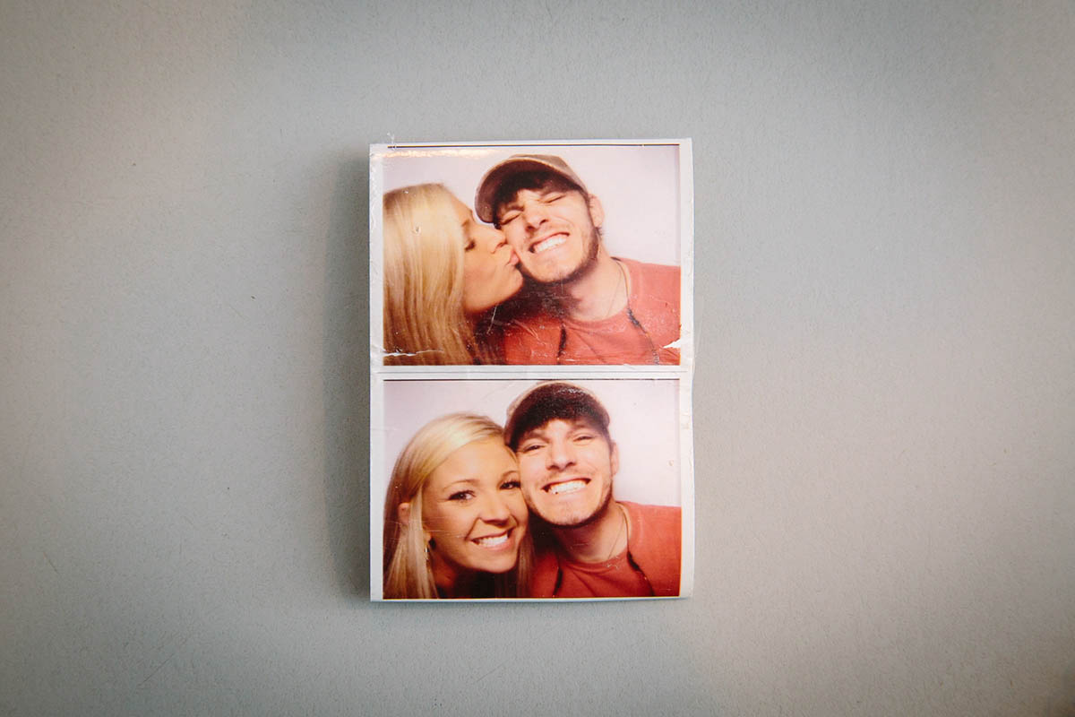 Handout photos of Matthew and Heather Ward.