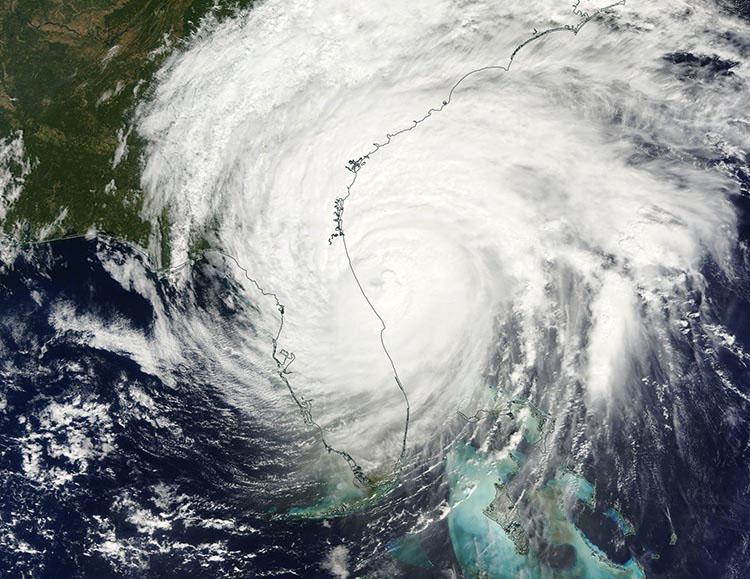 Hurricane Matthew Satall