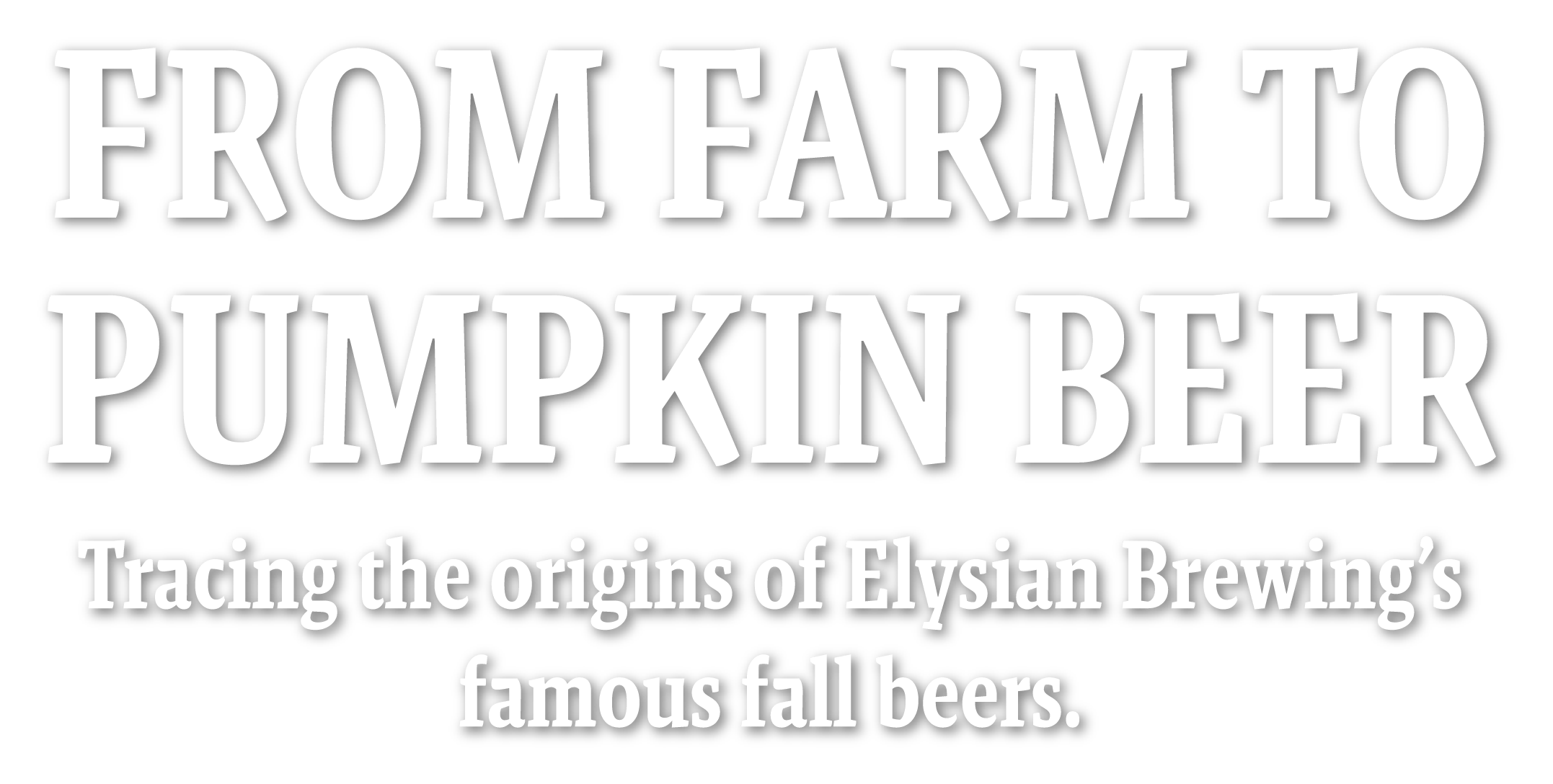From Farm to Pumpkin Beer logo