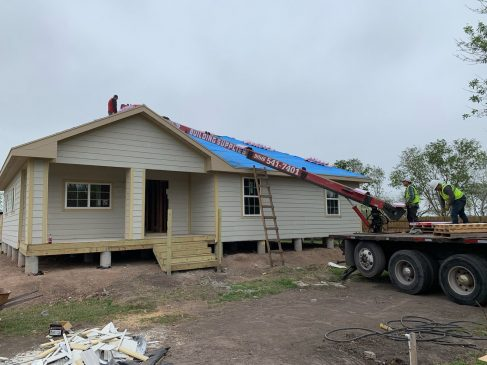 With a loan from the SBA, Josefa Mendoza was able to rebuild her home with added elevations to prevent future flooding. (Photo courtesy of Josefa Mendoza)