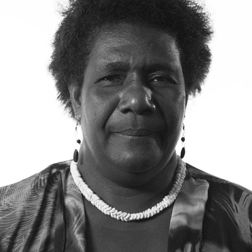 <span class='name'>Ursula Rakova</span><span class='colon'>:</span> Our islands are disappearing