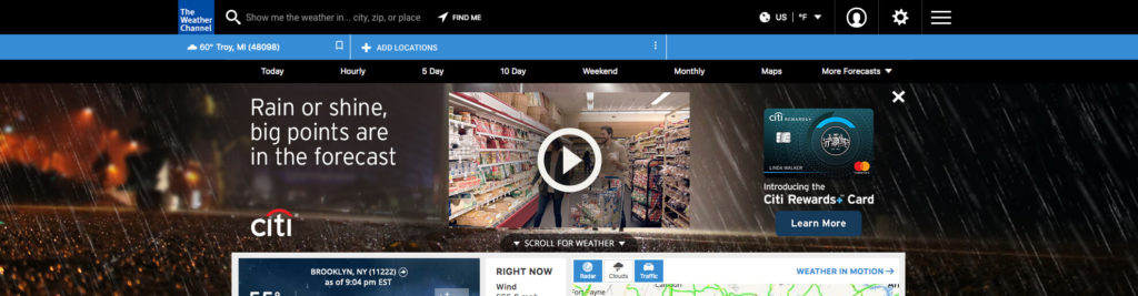 Citi_Rewards_006 - Rainy Night Shopping Cart (Open)