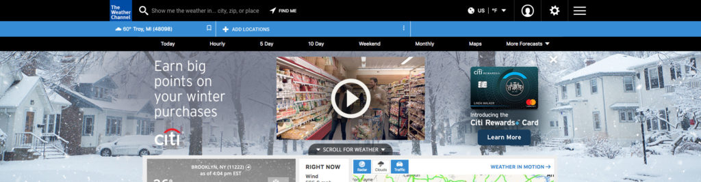 Citi_Rewards_007 - Wintry Day Shopping Cart (Open)