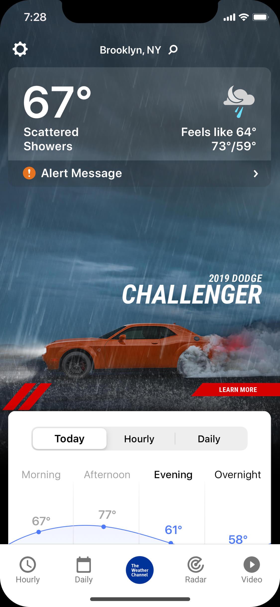 Challenger_rainy_night