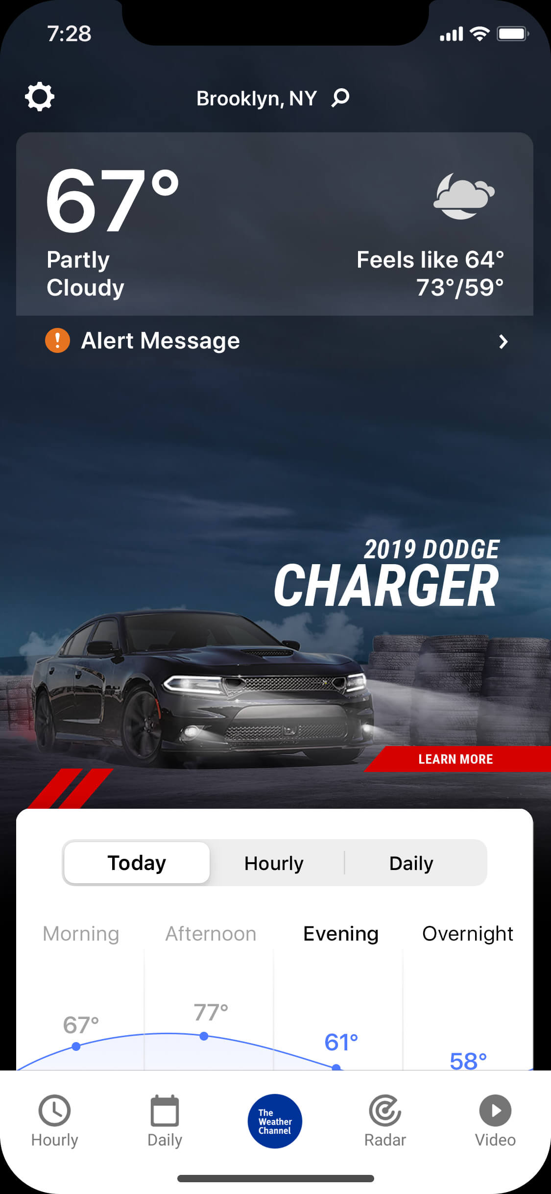 Charger_cloudy_night