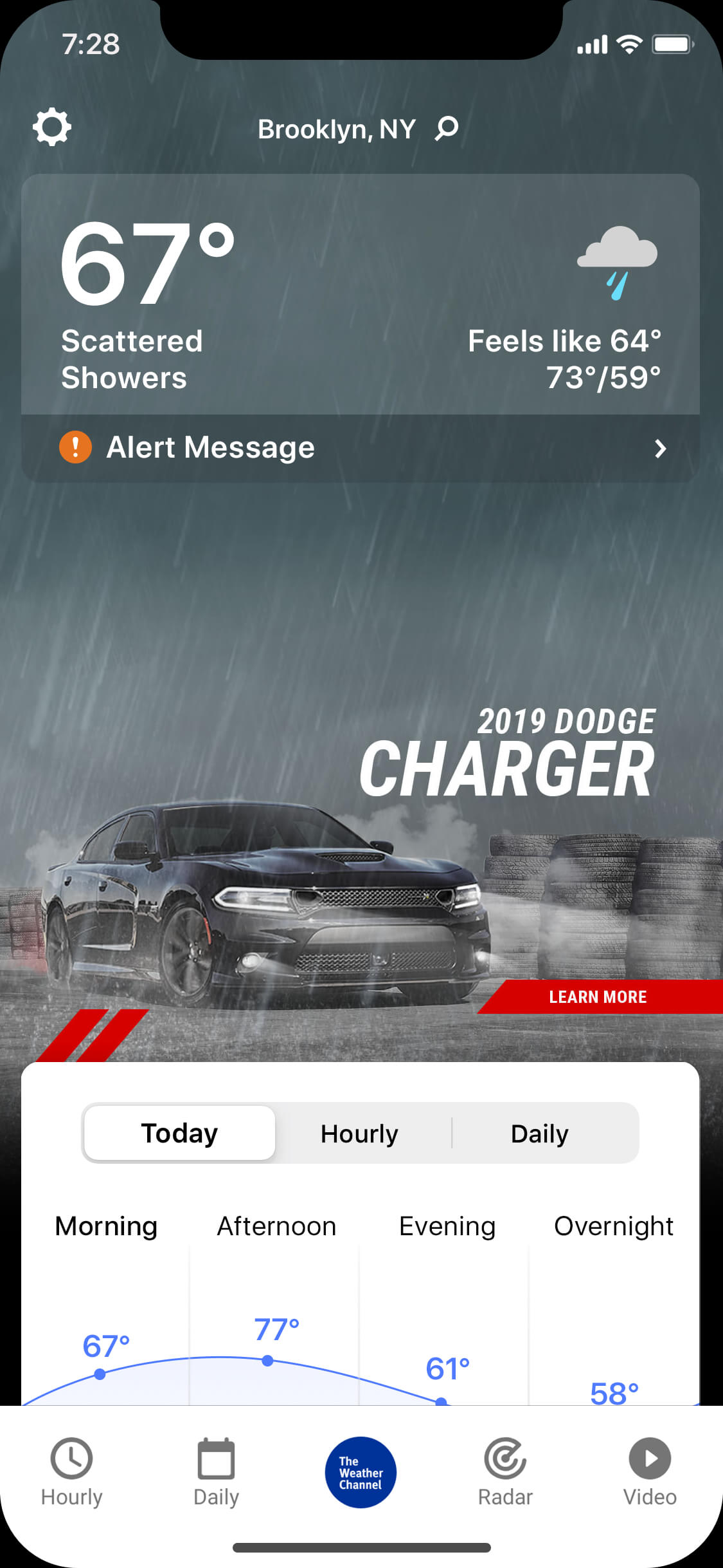 Charger_rainy_day