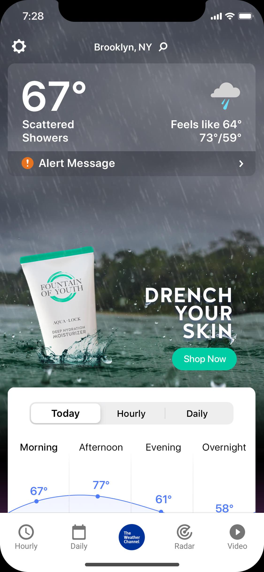 skincare-rainy-day