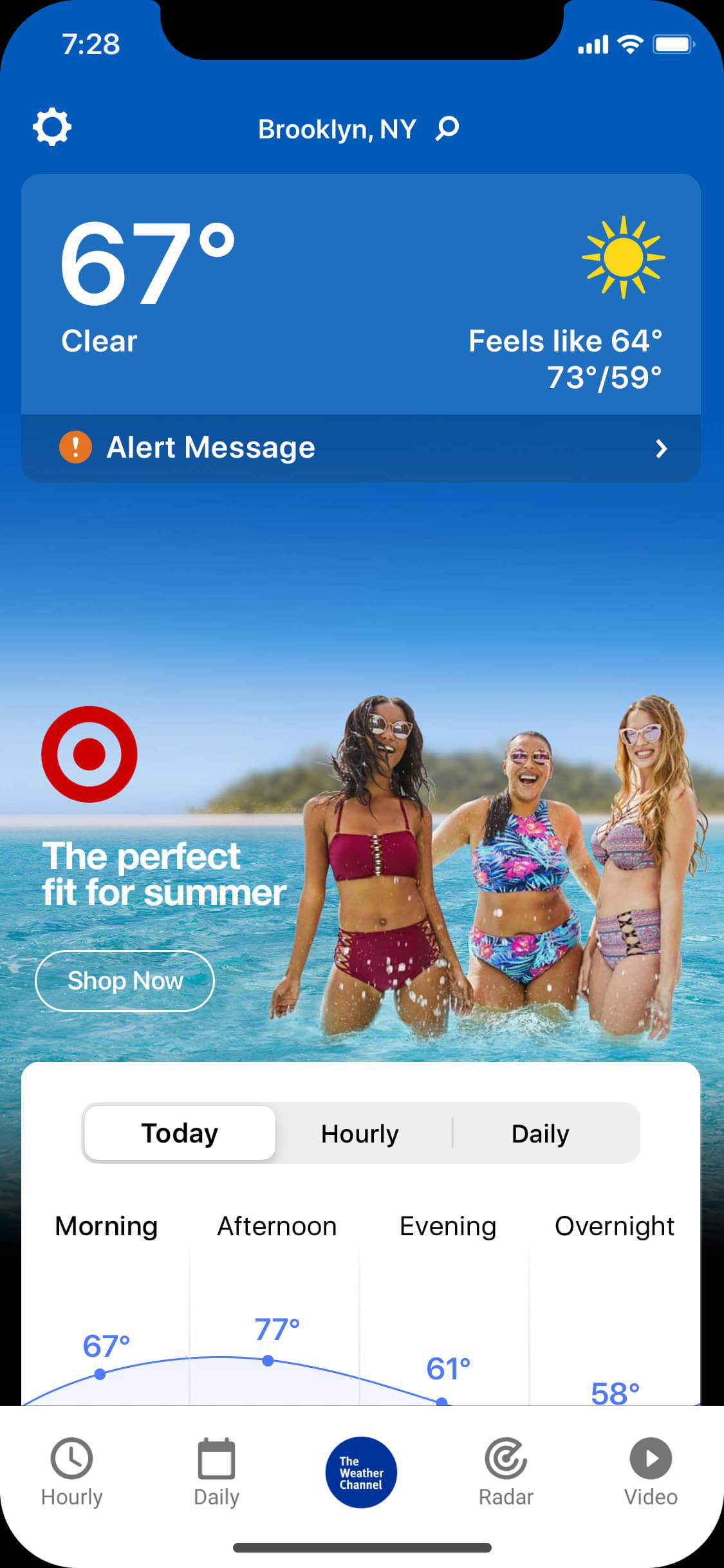 target-swim-mobile-app
