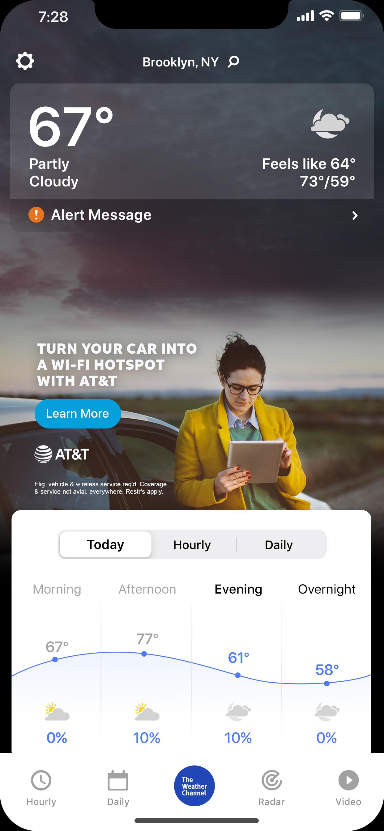 AT&T Connected Car Mobile_App-IM_NextGen-Mock_Woman