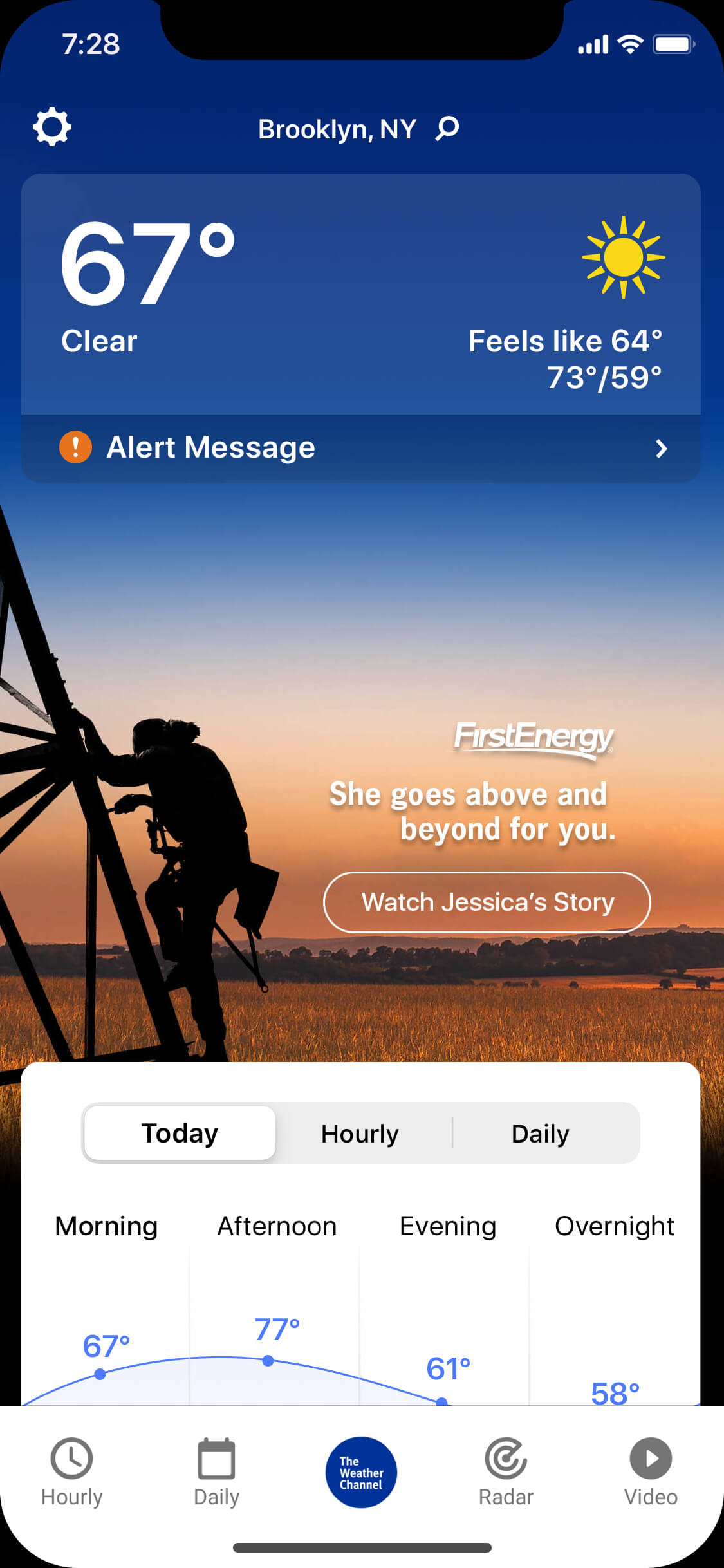 First Energy_clear_day