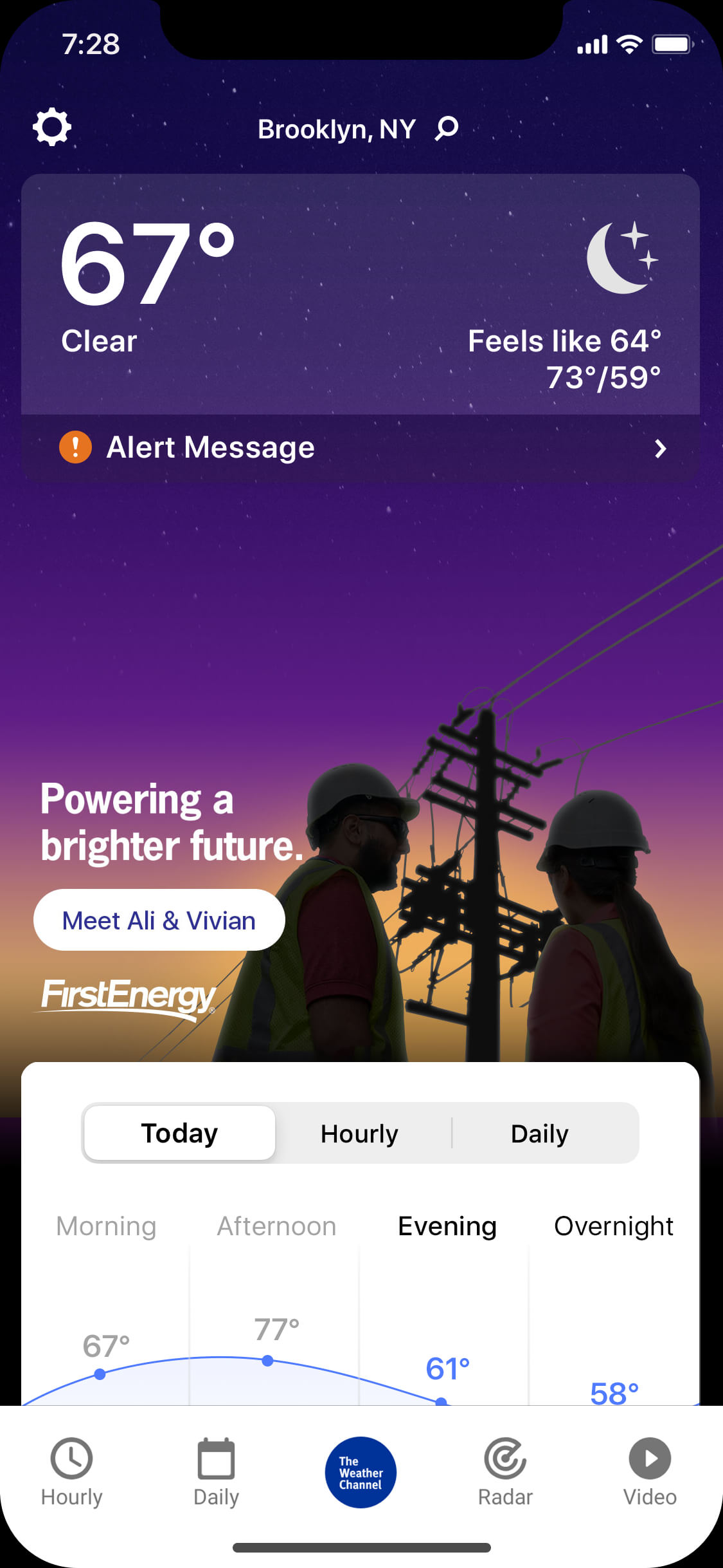 First Energy_clear_night