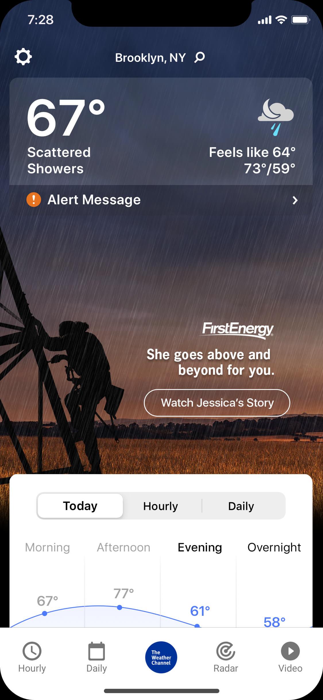 First Energy_rainy_night