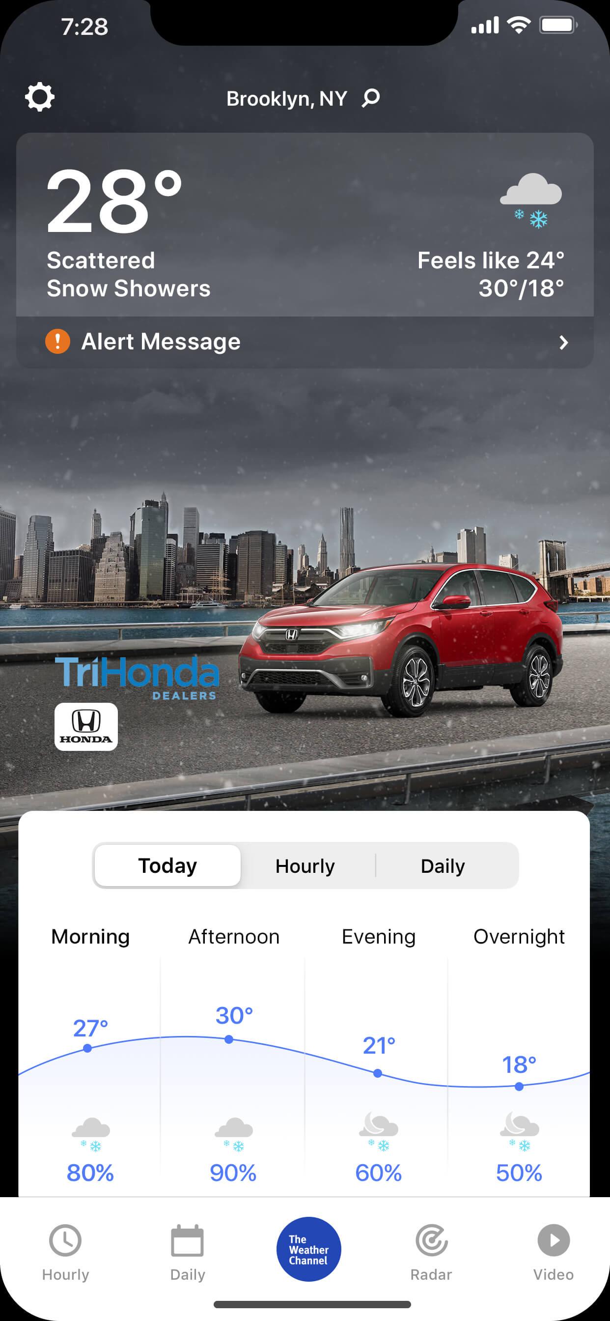 Tri_Honda-AWO-CRV-wintry_day