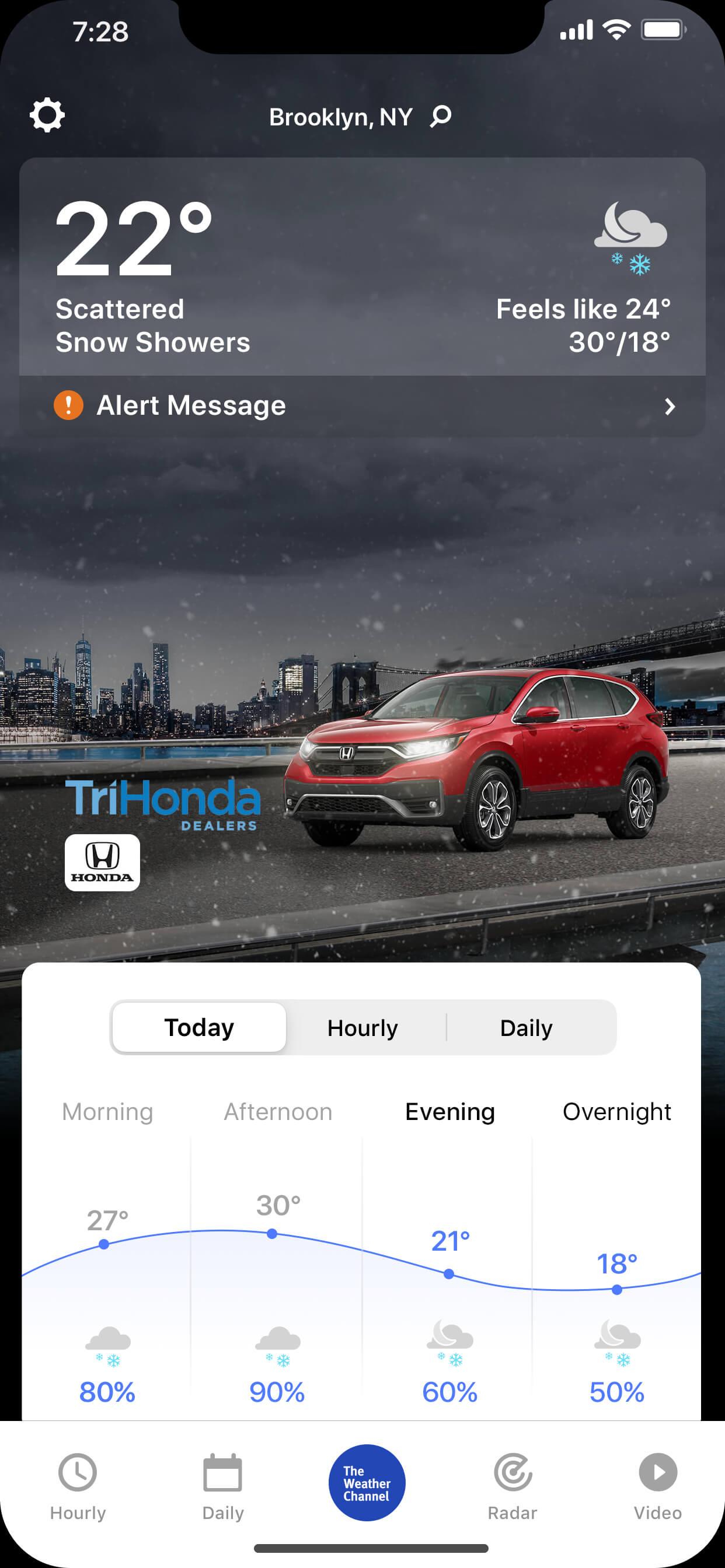 Tri_Honda-AWO-CRV-wintry_night