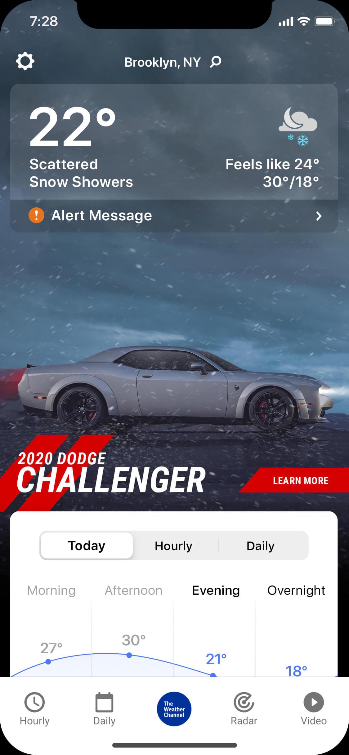 Dodge_Challenger-MAIM-wintry_night