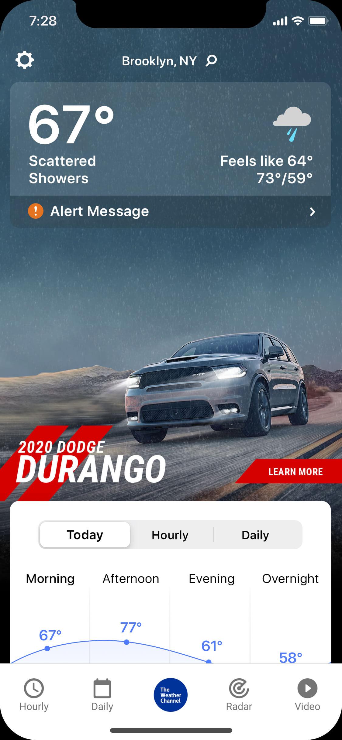 Dodge_Durango-rainy_day