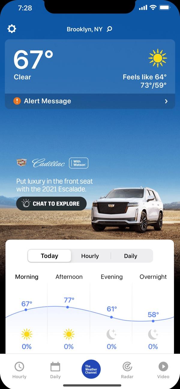 Watson Ad Cadillac