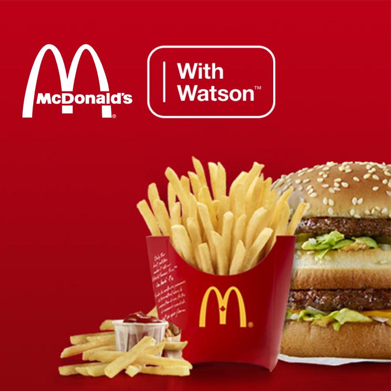 McDonald's Watson Ad