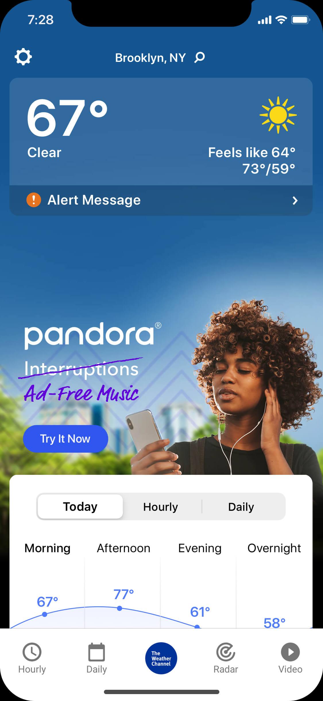 Pandora-IM-Mock