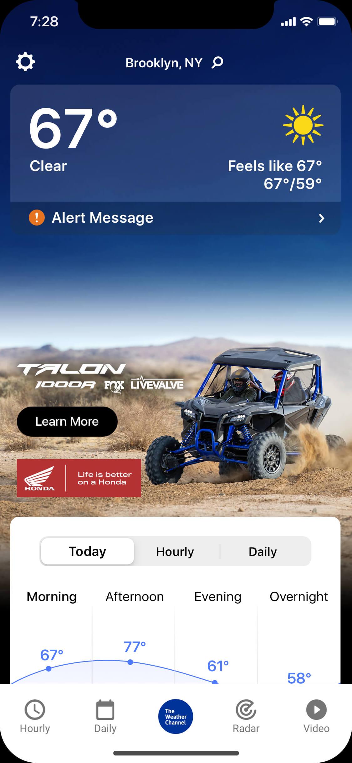 Honda Talon - R-clear_day