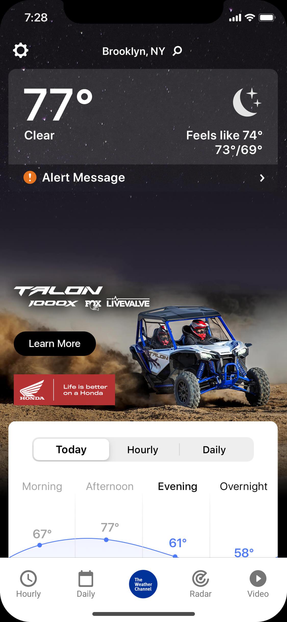 Honda Talon - X-clear_night