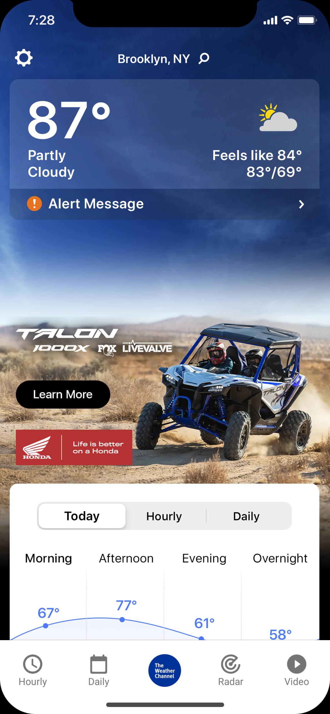Honda Talon - X-cloudy_day