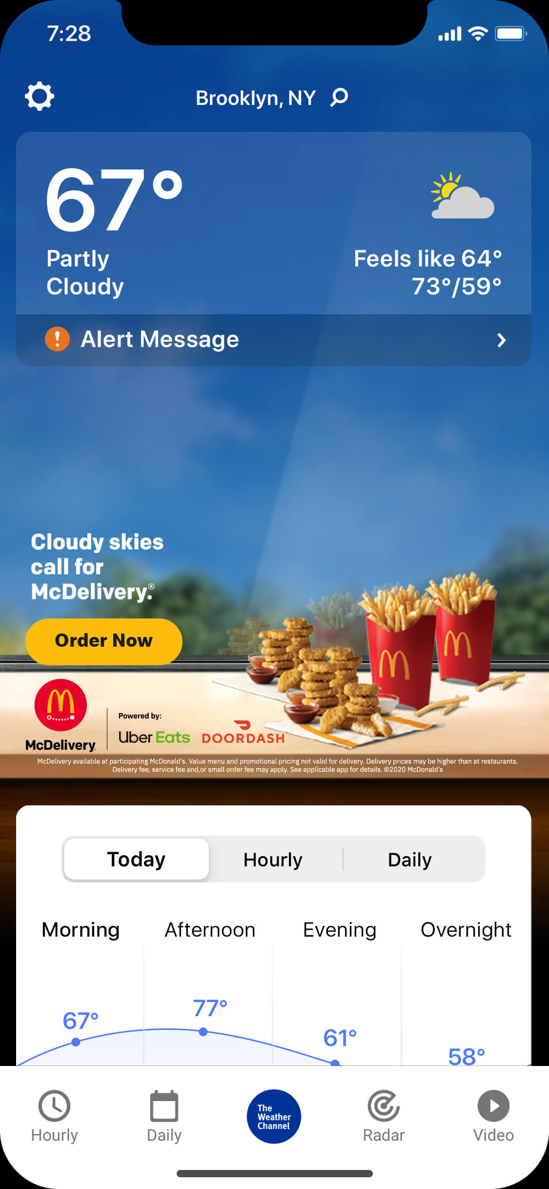 Mcdonalds-nugget_cloudy_day