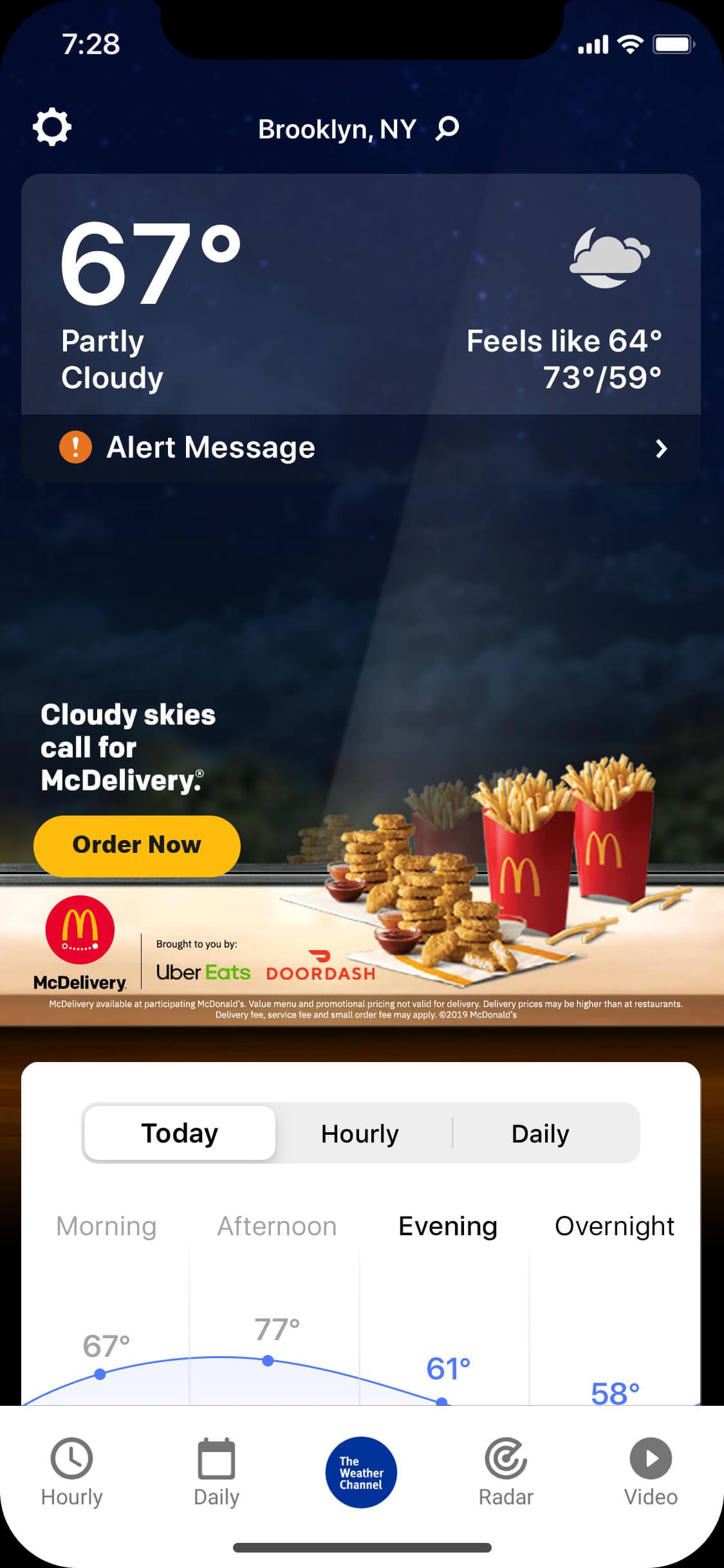 Mcdonalds-nugget_cloudy_night