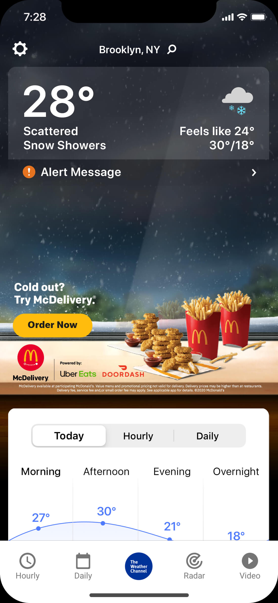 Mcdonalds-nugget_wintry_day