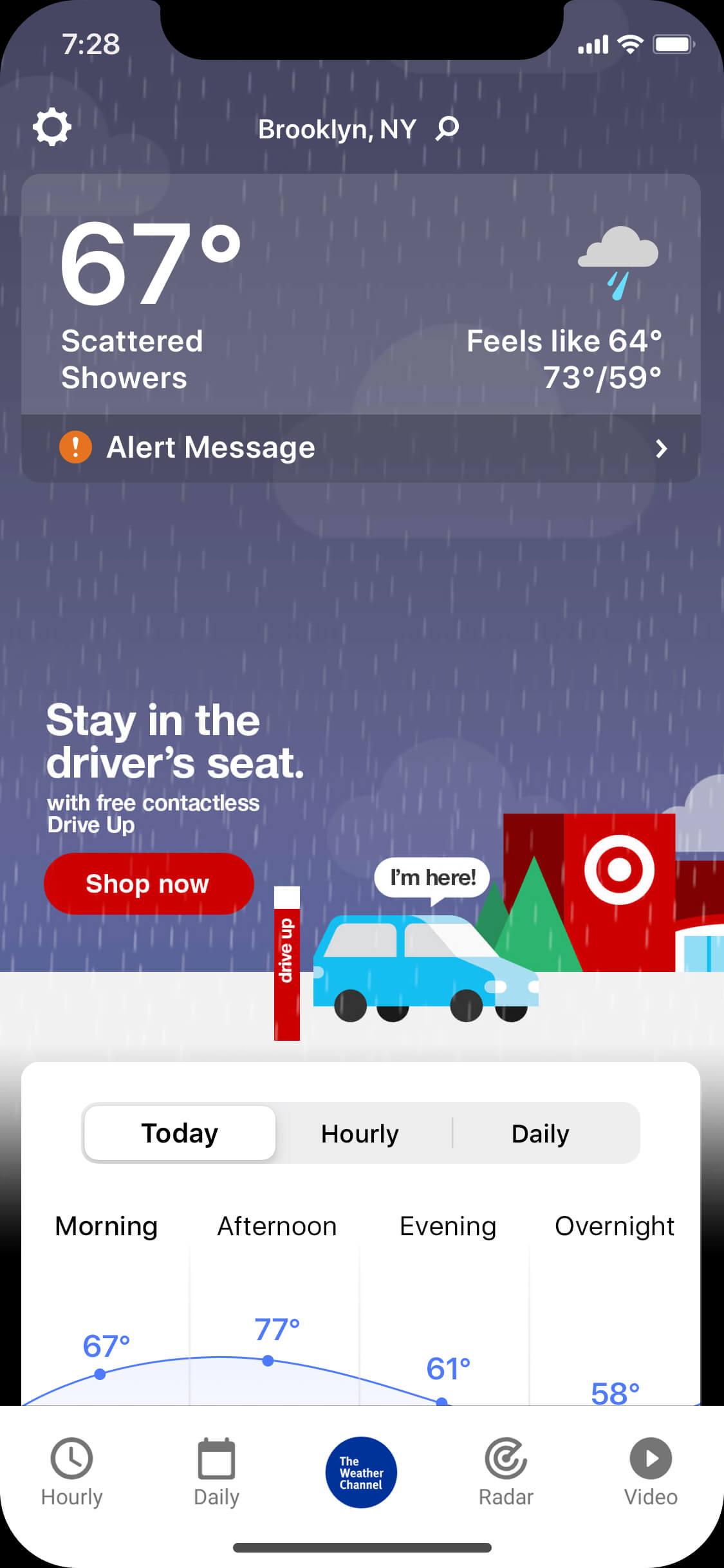 Target_rainy_day