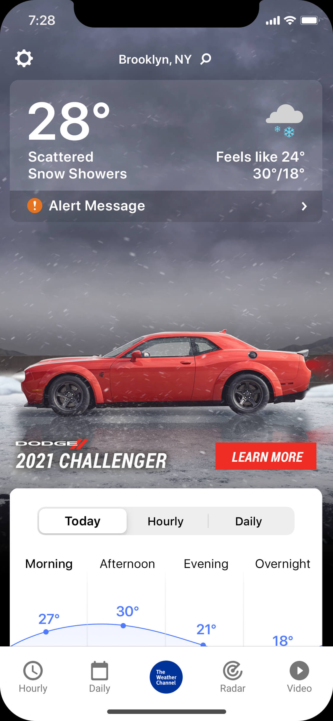Dodge-Challenger-MAIM-wintry_day