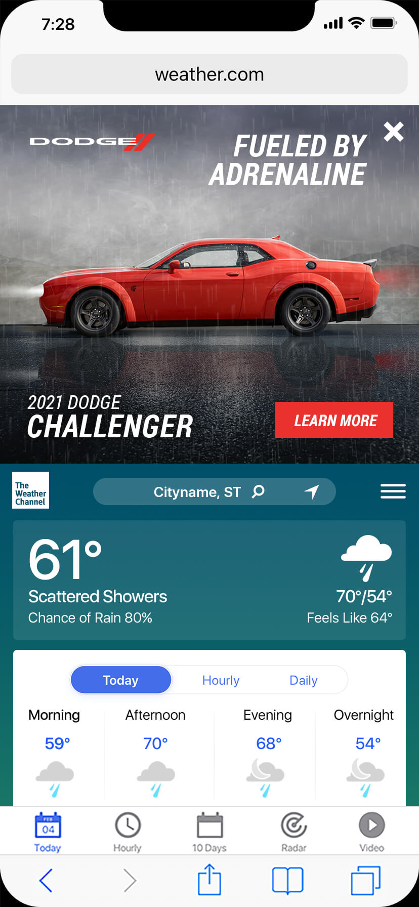 Dodge-Challenger-MWIM-rain-d