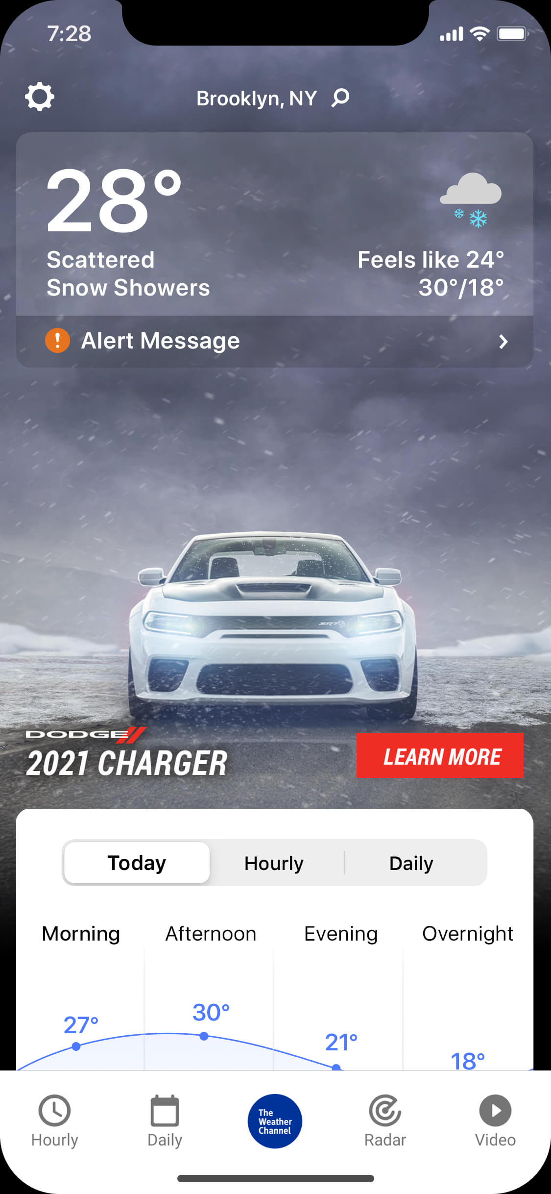 Dodge-Charger-MAIM-wintry_day