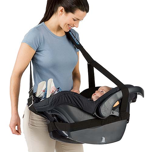 The Ridiculous Infant Seat Wrap Your Baby