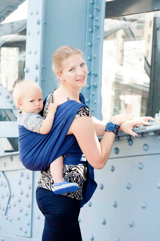 Leo Marine Storchenwiege Wraparound Baby Carrier - Wrap Your Baby 9803da619a5